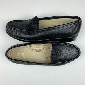 SAS Tripad Comfort Black Leather Loafer Size 9.5